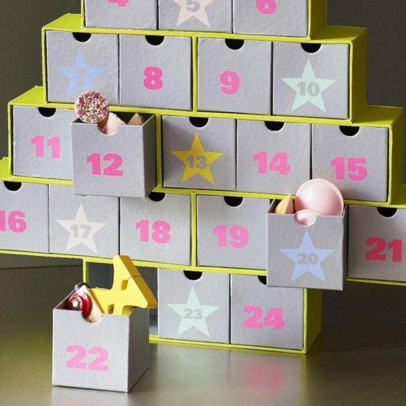 adventskalender selber gestalten kreative bastelideen f r weihnachten. Black Bedroom Furniture Sets. Home Design Ideas