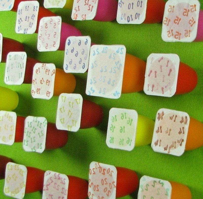 kreative Bastelideen Adventskalender Weihnachtsdeko