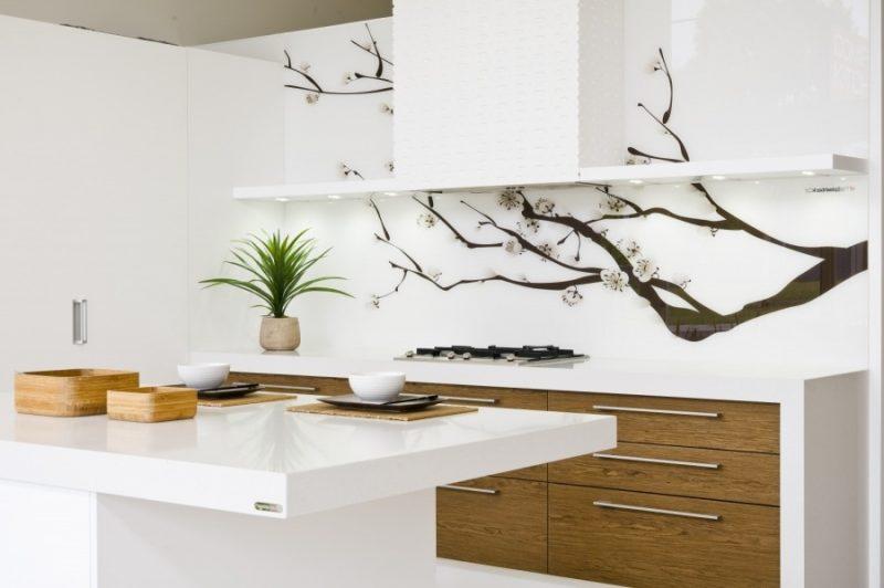 Küchenrückwand günstig bedrucken - die ganze Wand