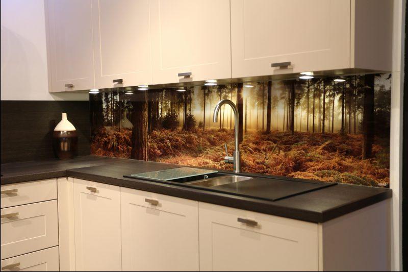 Küchenrückwand günstig mit eigenem Motiv gestalten - Küche - ZENIDEEN