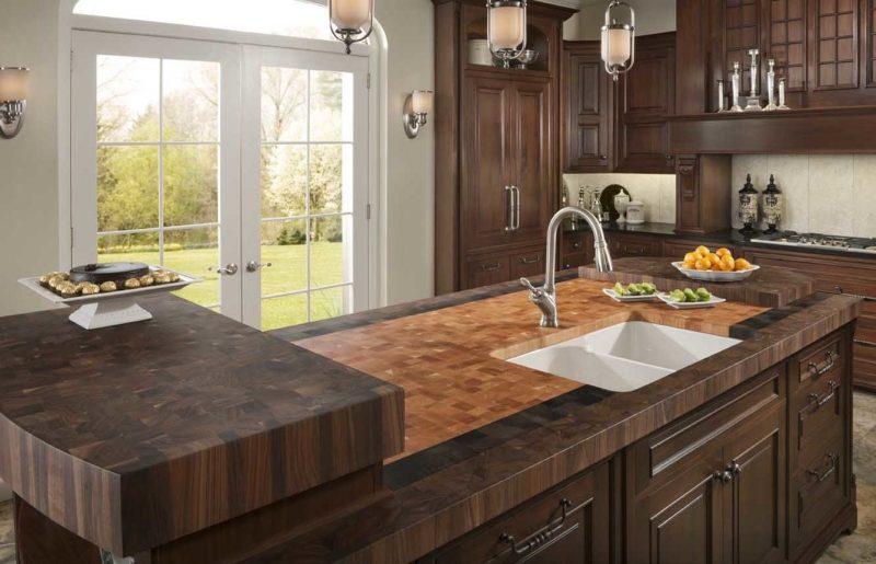 Küchenplatten für Kücheninsel