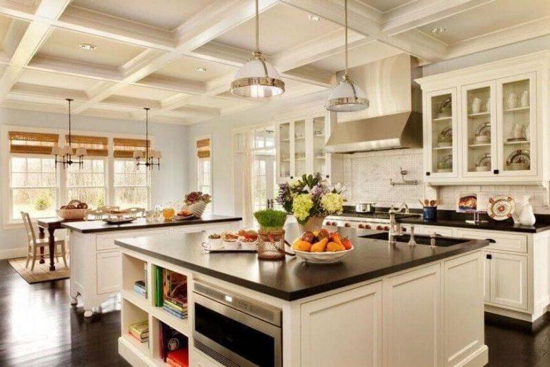 Küchenplatten dunkel Granit