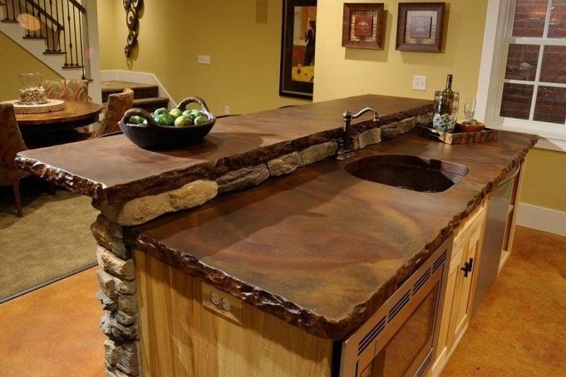 Küchenplatten Echtholz