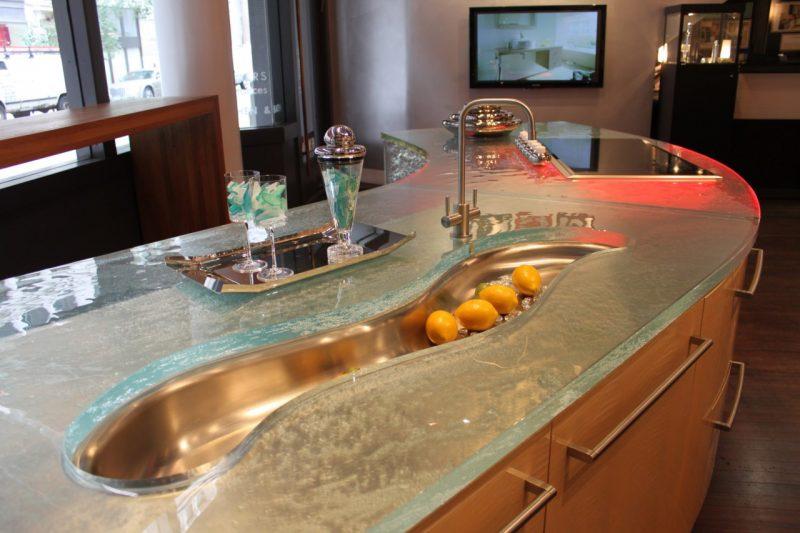 Küchenplatten aus Glas