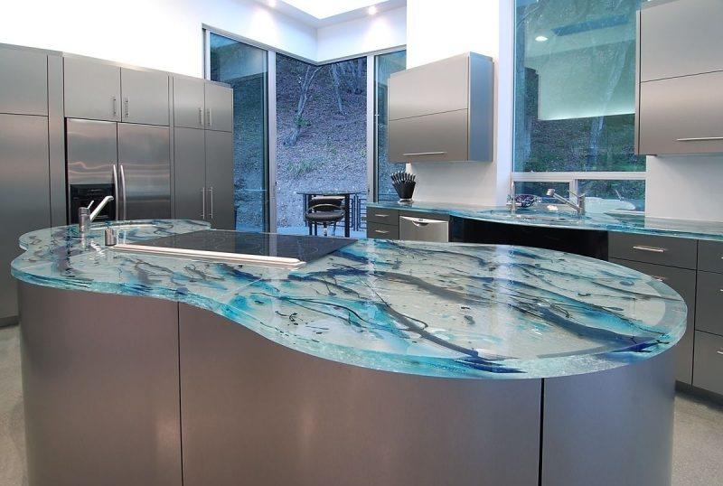 Küchenplatten Glas