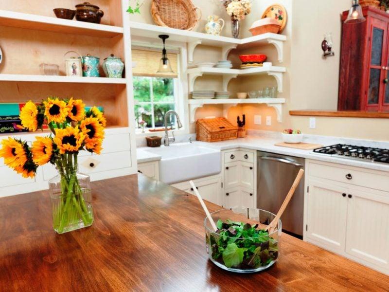 Küchenplatten aus Holz