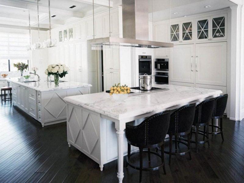 Küchenplatten Marmor in Weiß