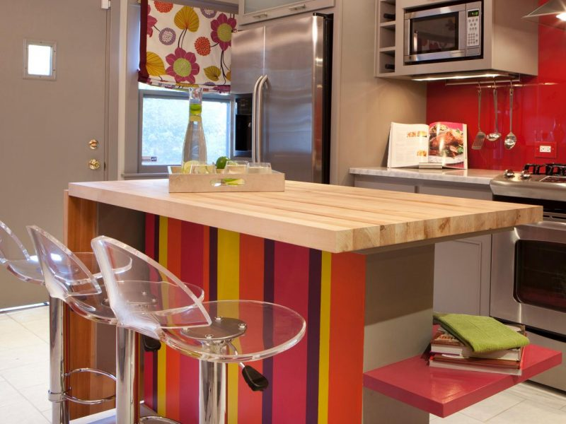 Küchenplatten aus Holz für Budget Küche