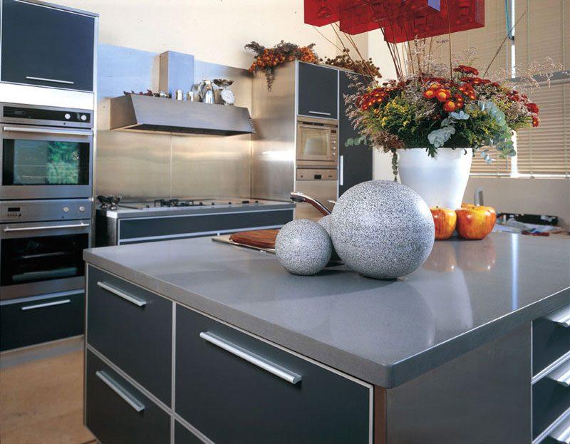 Küchenplatten Materialien im Vergleich