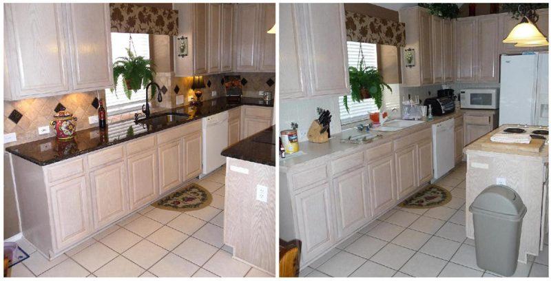 Küchenplatten Renovierung