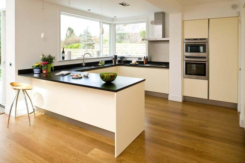 Küchenplatten in Schwarz