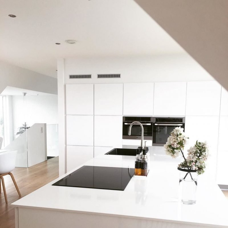 Küchenplatten in Weiß