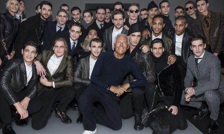 Männerfrisur 2015 von Mode Podium inspiriert