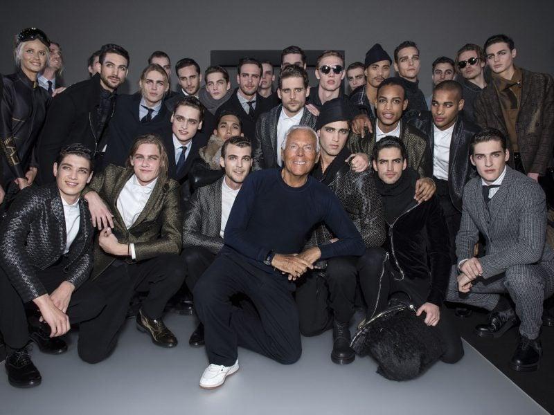 Männerfrisur 2015 von Models inspiriert