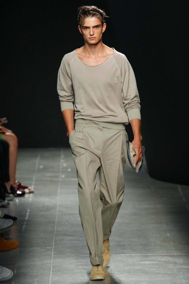 Männerfrisur 2015 20 Ideen Von Models Auf Fashion Week