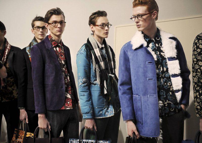 Männerfrisur 2015 von Burberry Models