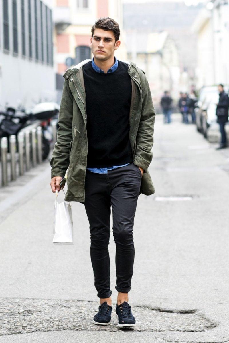 Männerfrisur 2015 Fashion Week