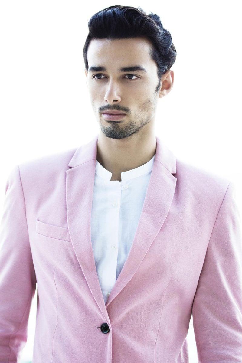 Männerfrisur 2015 die auf Fashion Week angezeigt ist, ist immer ein Trend