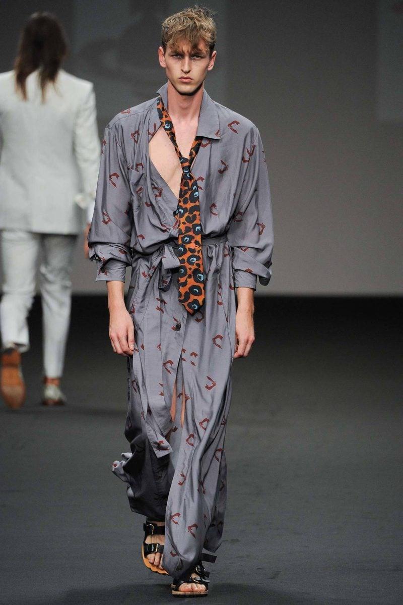 Männerfrisur 2015 Vivienne Westwood