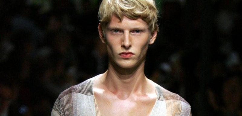 Männerfrisur 2015 Prada
