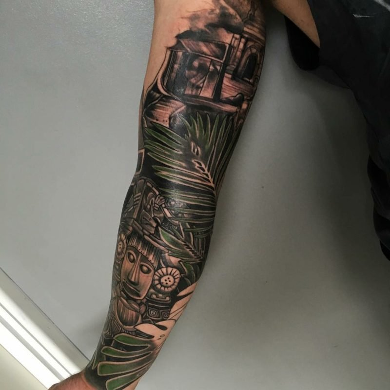 maya tattoo