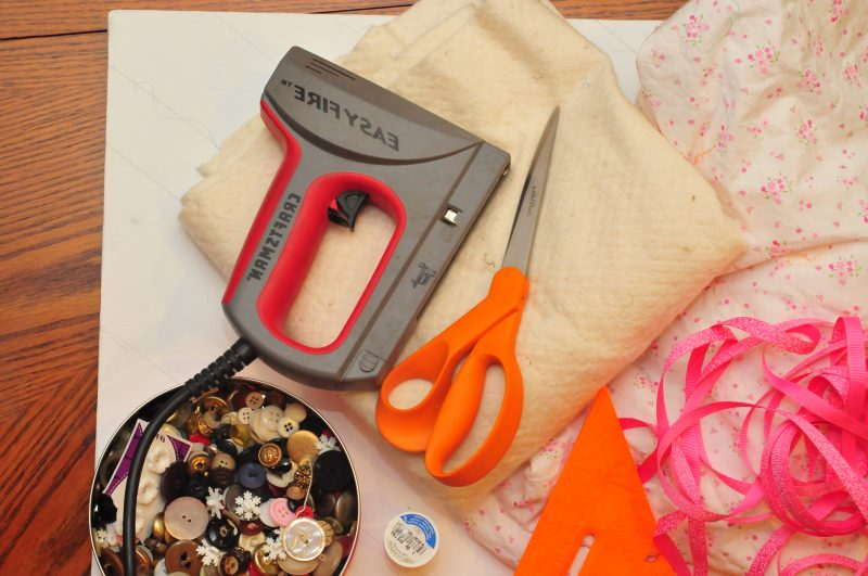 Memoboard selber machen - die benötigten Materialien