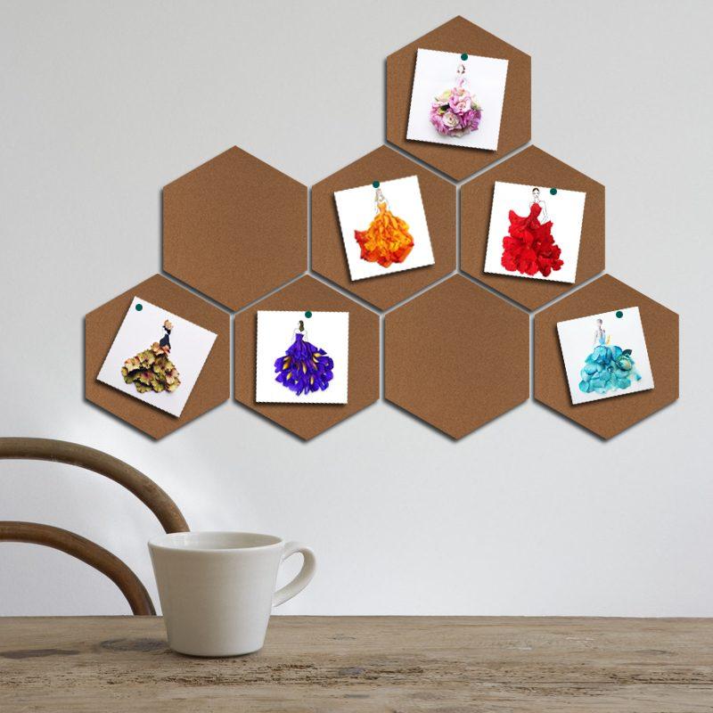 Memoboard selber machen - DIY Idee mit Kork