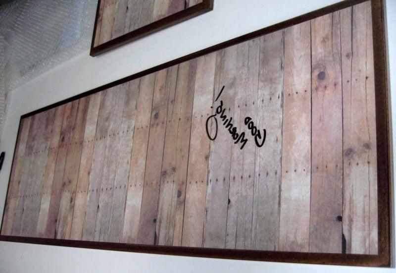Memoboard selber machen aus Holz