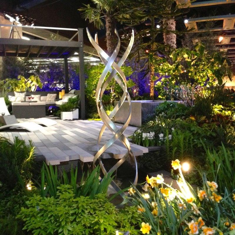Moderne Gartengestaltung Gartendeko