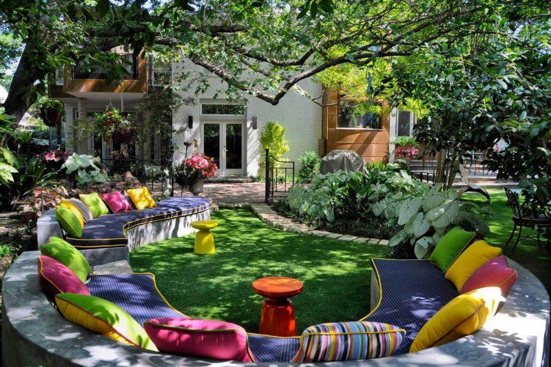 Moderne Gartengestaltung Entspannungsbereich