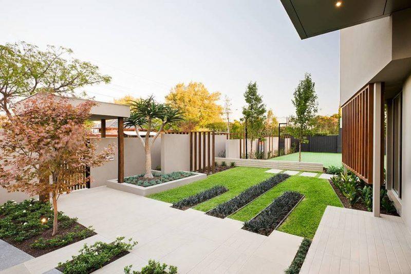 Moderne Gartengestaltung Minimalismus