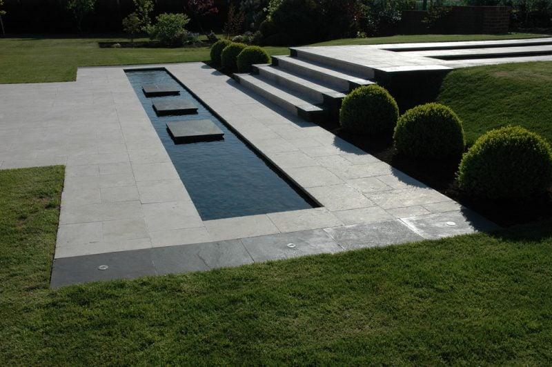 Moderne Gartengestaltung Minimalistisch