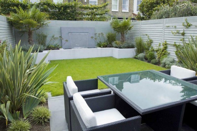 Moderne Gartengestaltung von Minimalismus inspiriert