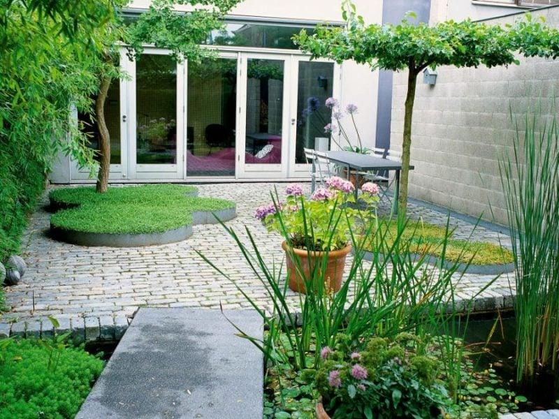 Moderne Gartengestaltung Vorgarten