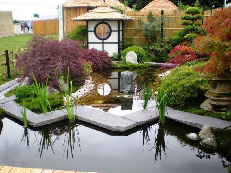 Moderne Gartengestaltung Zengarten