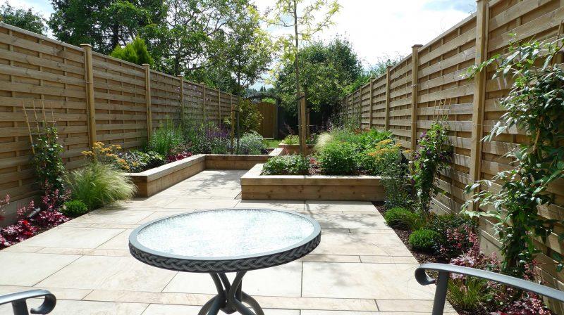 Moderne Gartengestaltung Entspannungsecke