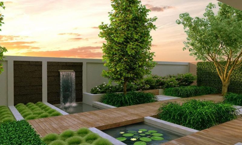 Lieblich Moderne Gartengestaltung U2013 Weniger Ist Mehr