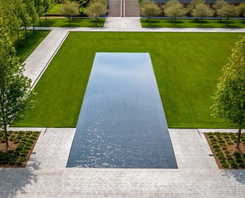 Moderne Gartengestaltung Klare Linien