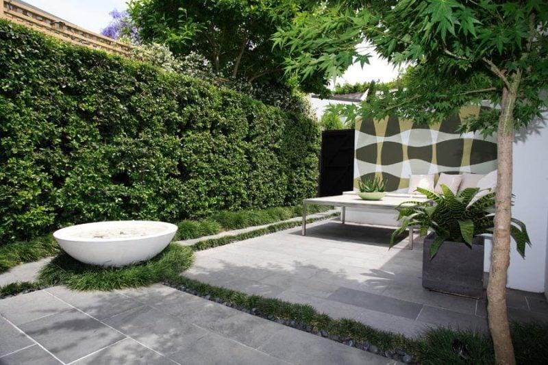 Moderne Gartengestaltung Natursteine