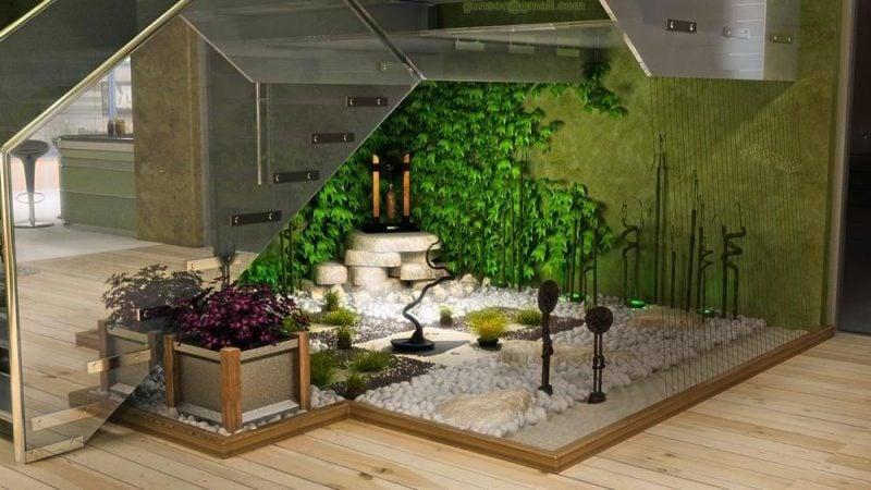 Moderne Gartengestaltung Wintergarten