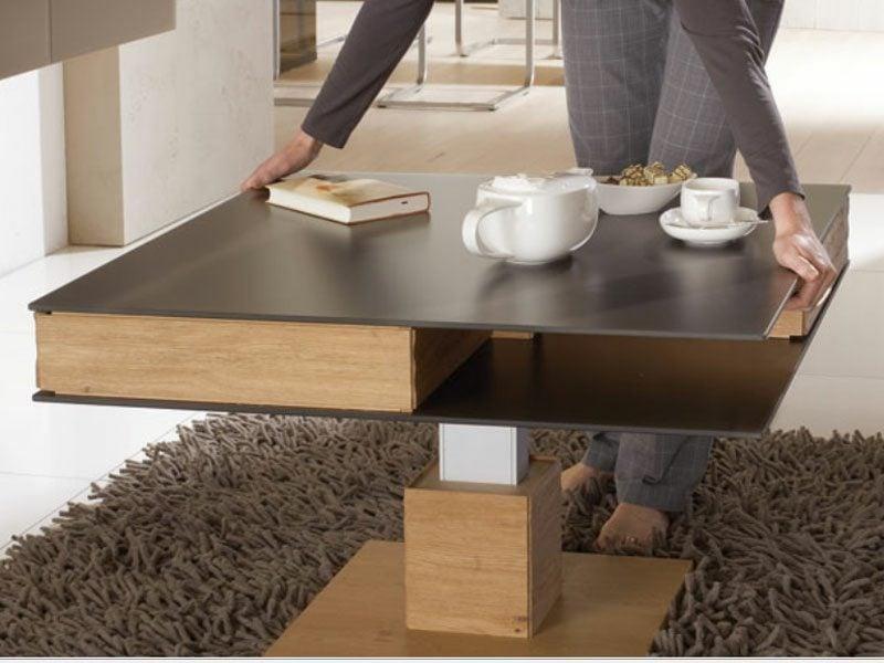 Kaffeetisch Holz modernes Design