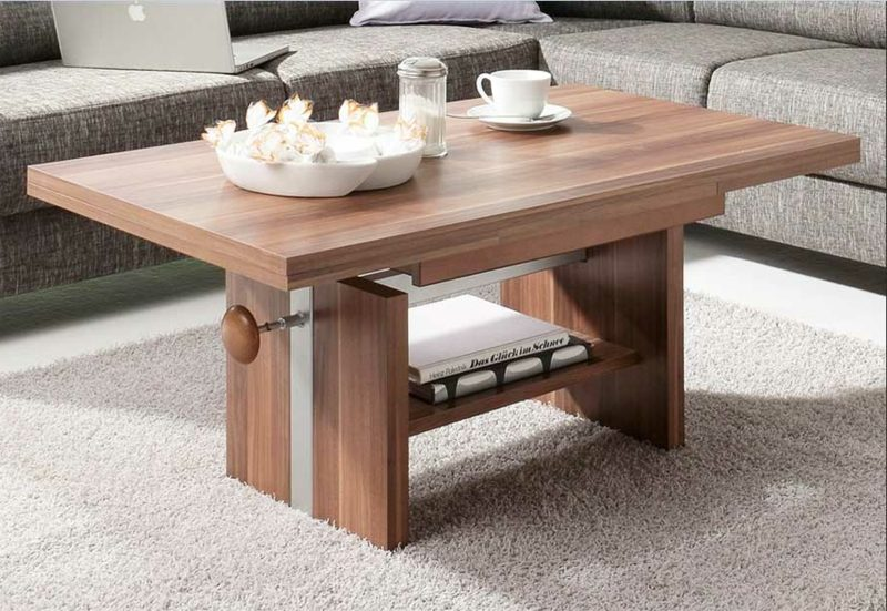 Wohnzimmertisch Holz moderner Look