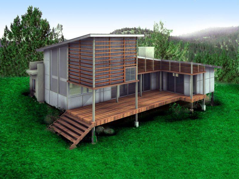 Wie ein hobbit leben: Ökohaus bauen   architektur   zenideen