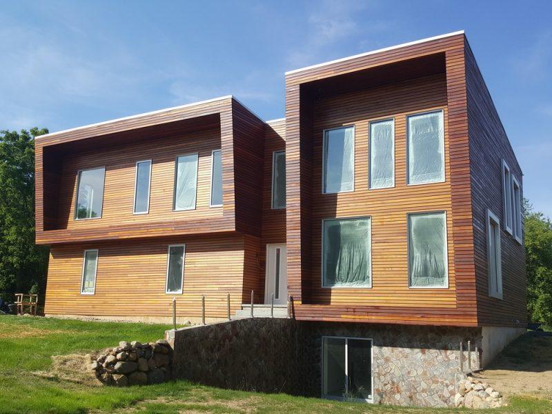 Ökohaus ist ein Einfamilienhaus