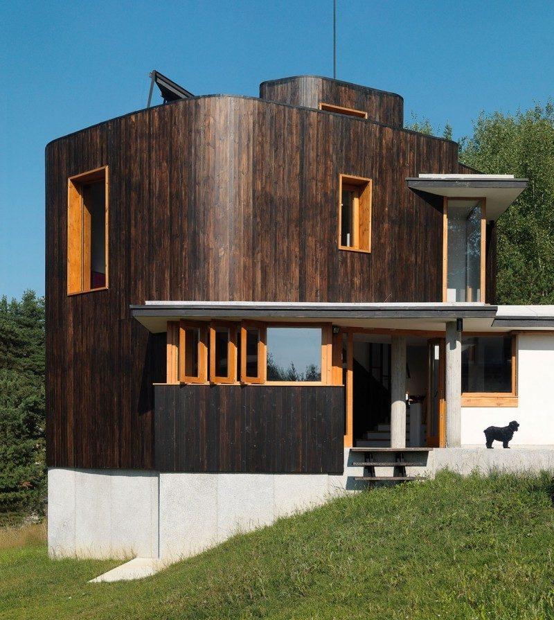Ökohaus aus Massivholz