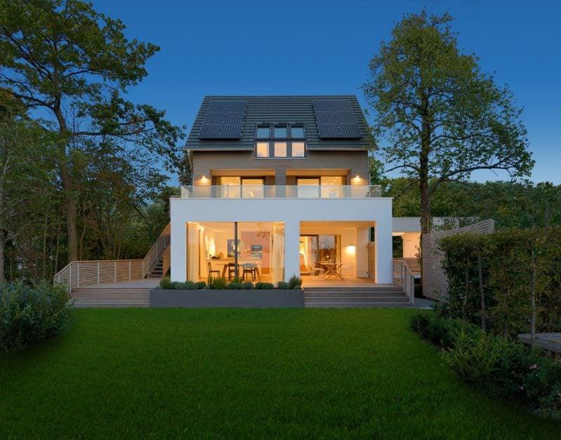 Ökohaus von Minimalismus inspiriert