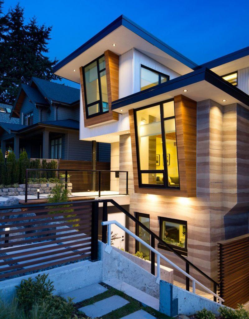Ein Ökohaus aus Holz bedeutet auf keinem Fall immer rustikales Aussehen
