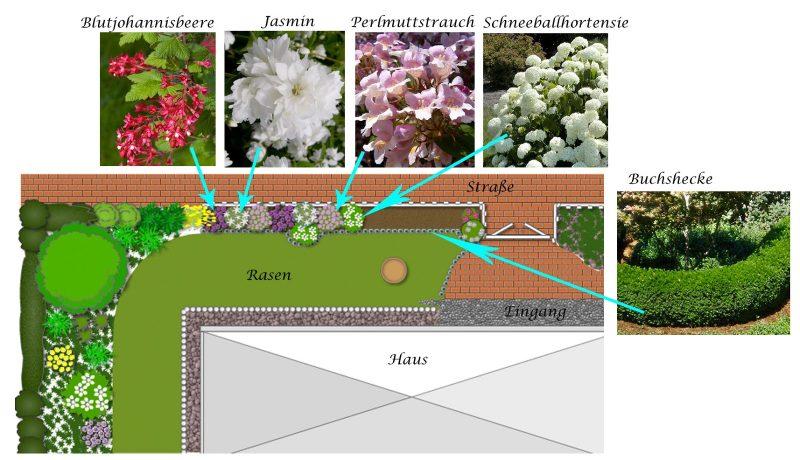 online Gartenplaner reiche Bibliothek