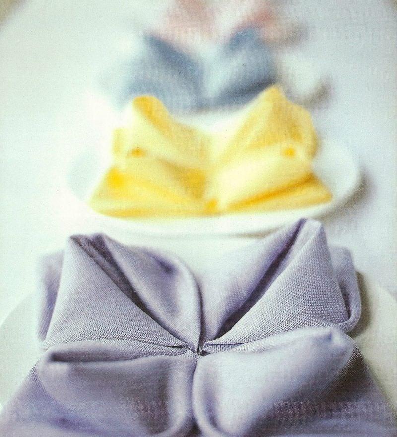 servietten-falten-seerose-ideen