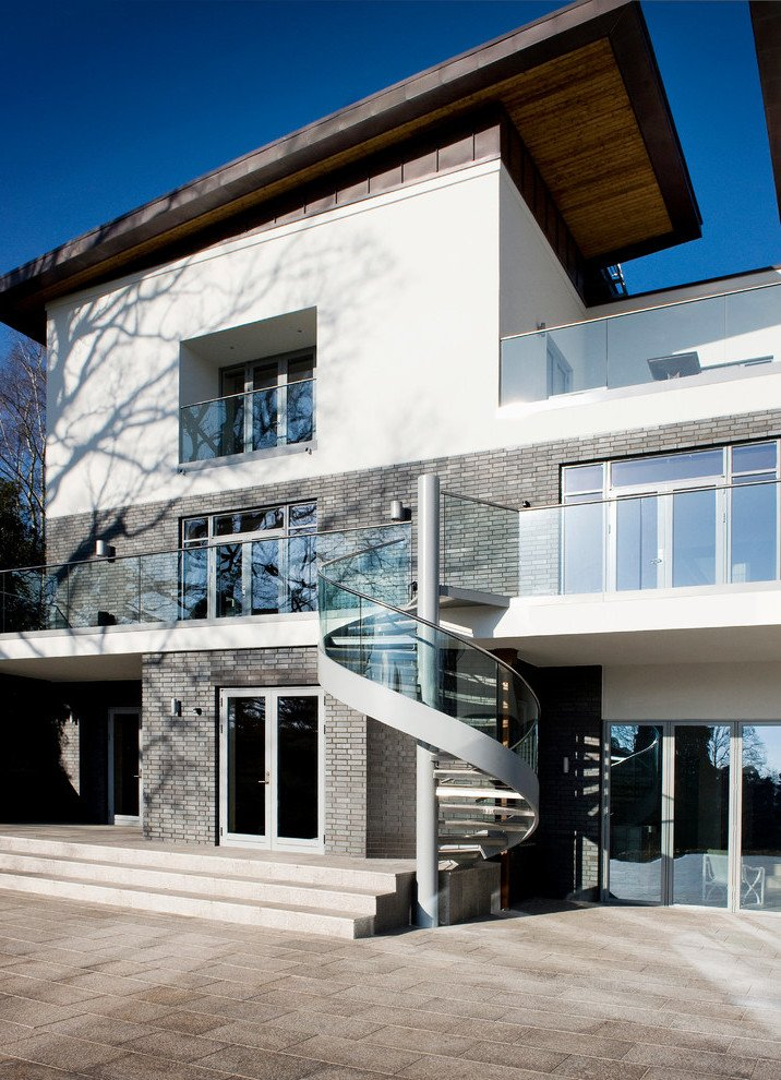 Moderne Stahltreppen außen - eine gute Idee? - Architektur - ZENIDEEN